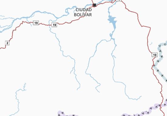 Carte-Plan Bolívar