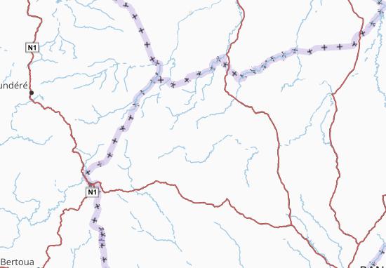 Carte-Plan Ouham-Pendé