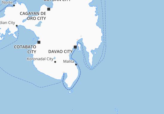 Mappe-Piantine Davao Region