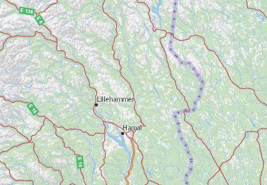 Carte-Plan Hedmark