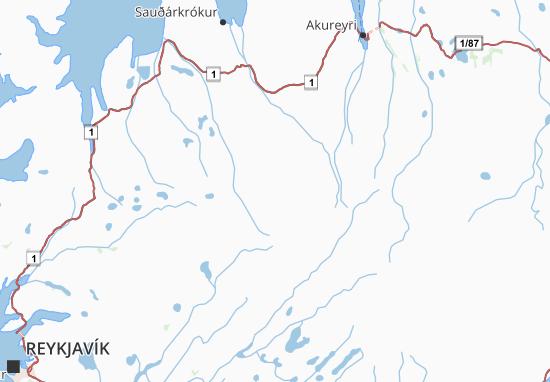 Carte-Plan Ísland