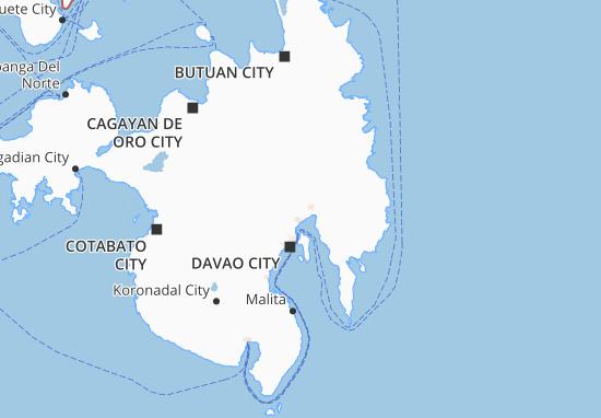 Mappe-Piantine Davao Del Norte