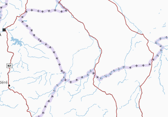 Carte-Plan Logone Oriental