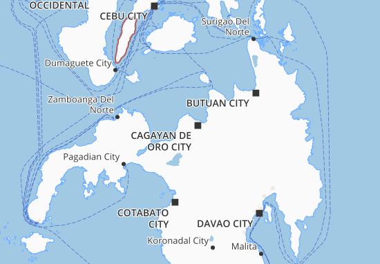 Carte-Plan Northern Mindanao