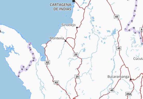 Carte-Plan Córdoba