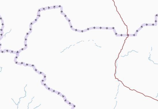 Carte-Plan Western Bahr el-Ghazal