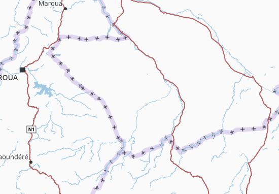 Carte-Plan Logone Occidental
