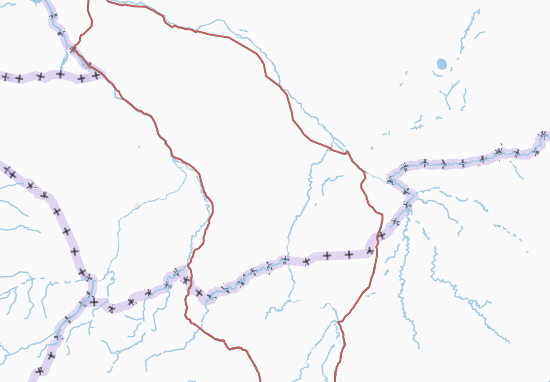 Carte-Plan Mandoul