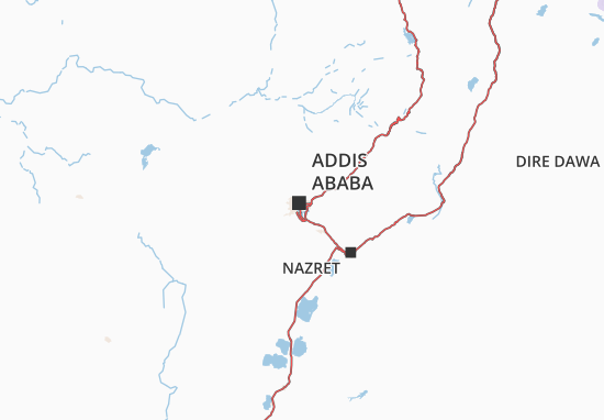 Addis Ababa Map: Detailed maps for the city of Addis Ababa - ViaMichelin